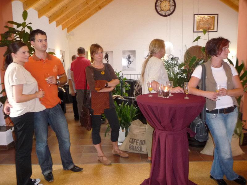 Vernissage Sylvi Piela 2009