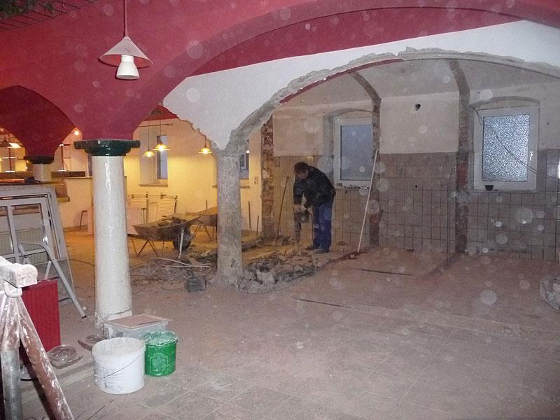 Umbau 2008/2009